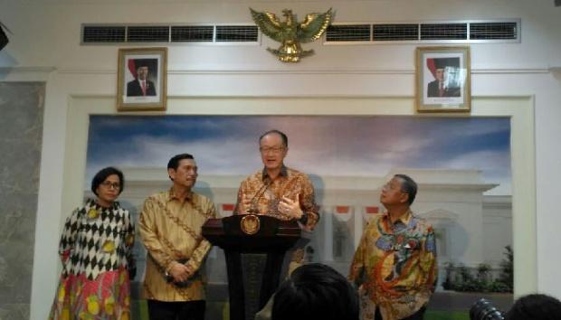 Temui Jokowi, Bank Dunia: Ekonomi Indonesia Bikin Cemburu Dunia