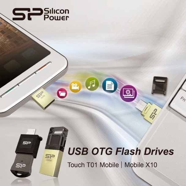 SP/Silicon Power Mobile X10 USB OTG Flash Drive
