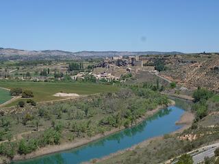 Zorita de los Canes y río Tajo desde Recópolis