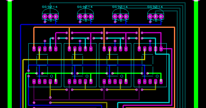 Rangkaian Pcb Untuk Output Pulser Code M2