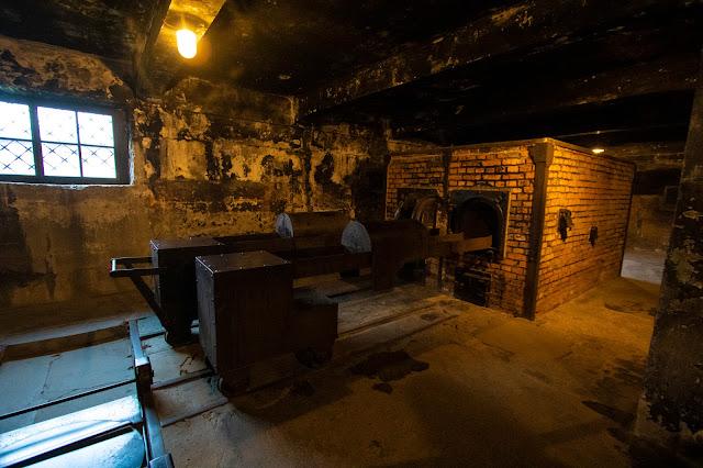Forno crematorio-Campo di concentramento di Auschwitz