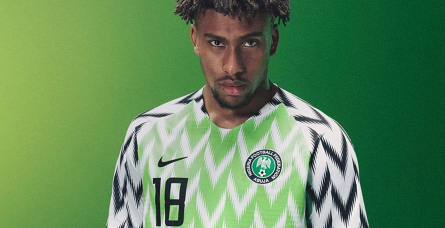 info for 4dc25 006f9 Stunning Nigeria 2018 World Cup Kit Re-Stocked Again - Footy ...