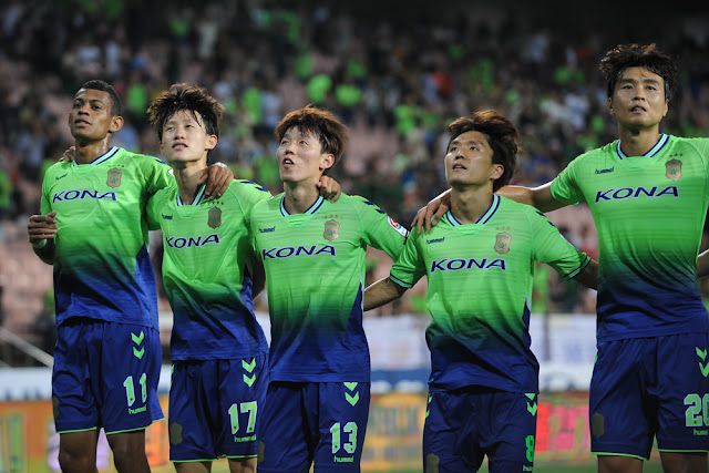 Jeonbuk Hyundai Motors take on Daegu FC this Sunday where Kim Bo-kyung will play in his last game for the club.