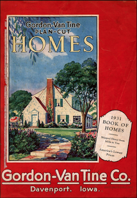 Gordon-Van Tine Book of Homes 1931 cover from Daily Bungalow