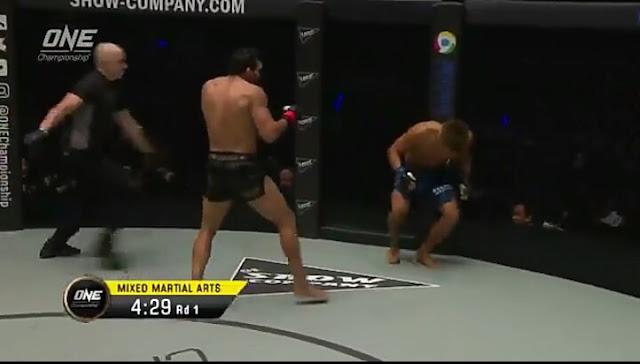 Pursuit Of Greatness Luis Santos def. Daichi Abe by KO/TKO, Round 1