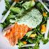 Grilled Salmon With Herb Yogurt Sauce Recipe