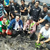 Mantan Gubsu dan Mapala Bersihkan Sampah di Danau Sihombak Medan Utara