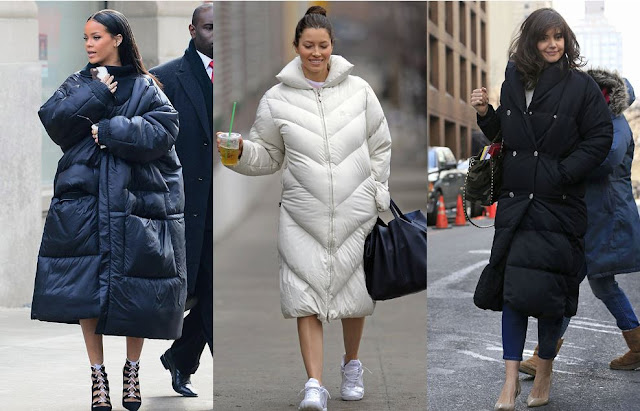 Image result for street style down coat