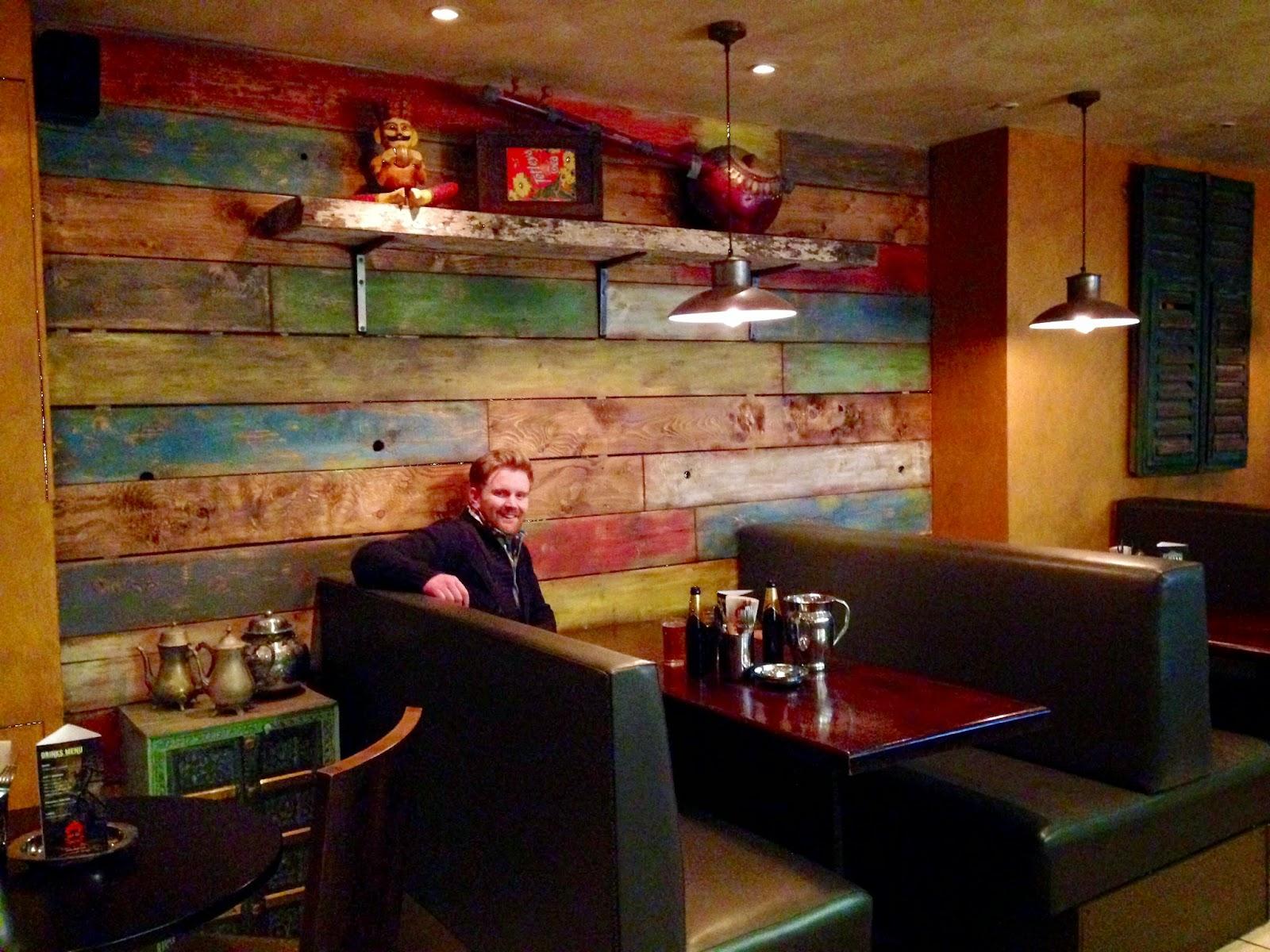 Raja Monkey interior, inside raja monkey restaurant