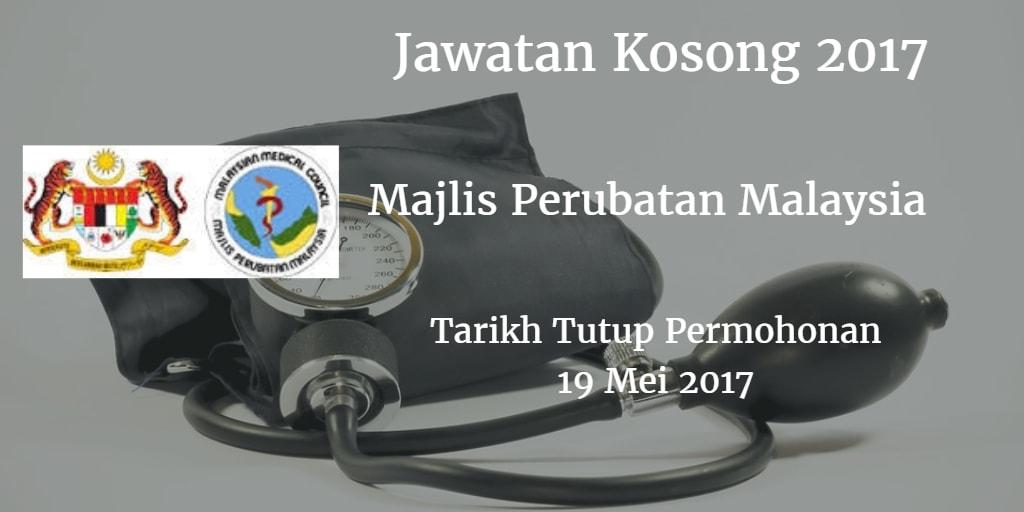 Jawatan Kosong MMC 19 Mei 2017