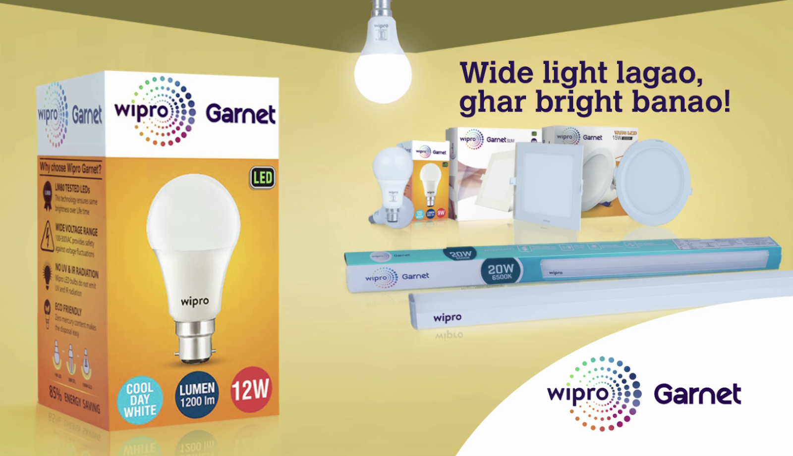 brighter homes lighting. Wipro Lighting Launches \u0027Wider Light For Brighter Homes\u0027 Ad Campaign Homes I
