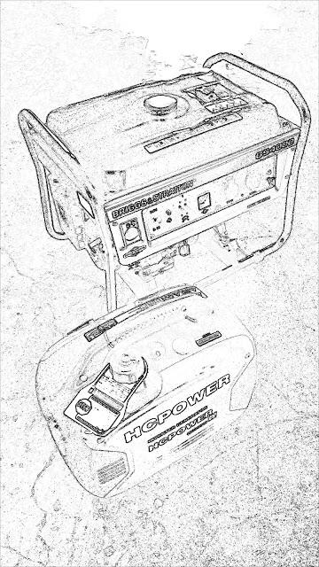 鋐誠發電機,汽油發電機,靜音型汽油發電機,百力通汽油發電機