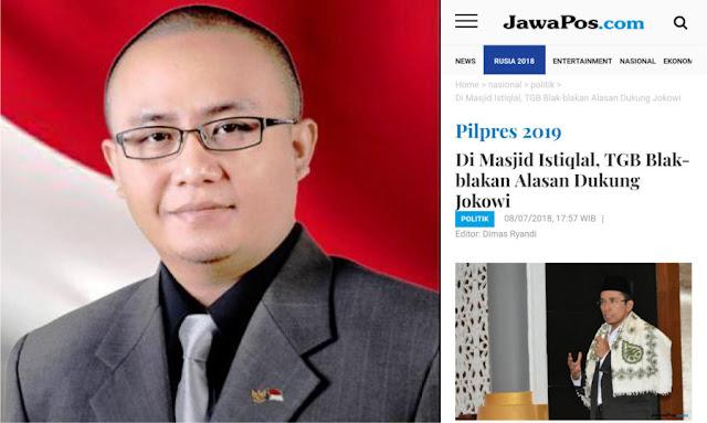 Sindir TGB, CEO AMI Grup: Sekarang di Masjid Dibolehkan Berbicara Politik, Alhamdulillah!