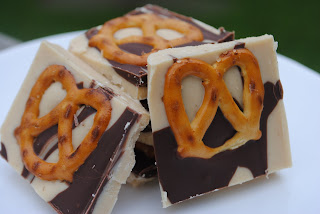 Peanut Butter Pretzel Fudge