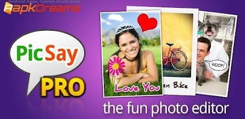 PicSay Pro v1.7.0.7 Apk Aplikasi Edit Foto Android