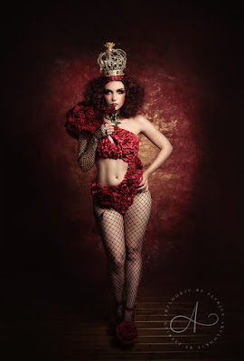 Mystic Magic, fashion, couture, high fashion, fashionista, queen of hearts, rose red, roses, red, fantasy, fairytale, crown, gold, rich, royal, alice in wonderland, designer, beauty and the beast, style, avant garde, beauty, dark beauty, editorial,