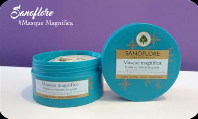 Sanoflore cosmétiques visage Bio masque magnifica