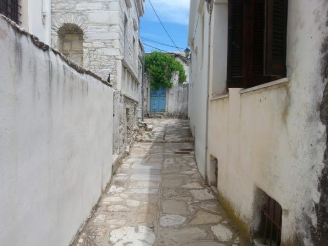 Παντζούρια χωριό Απείρανθος
