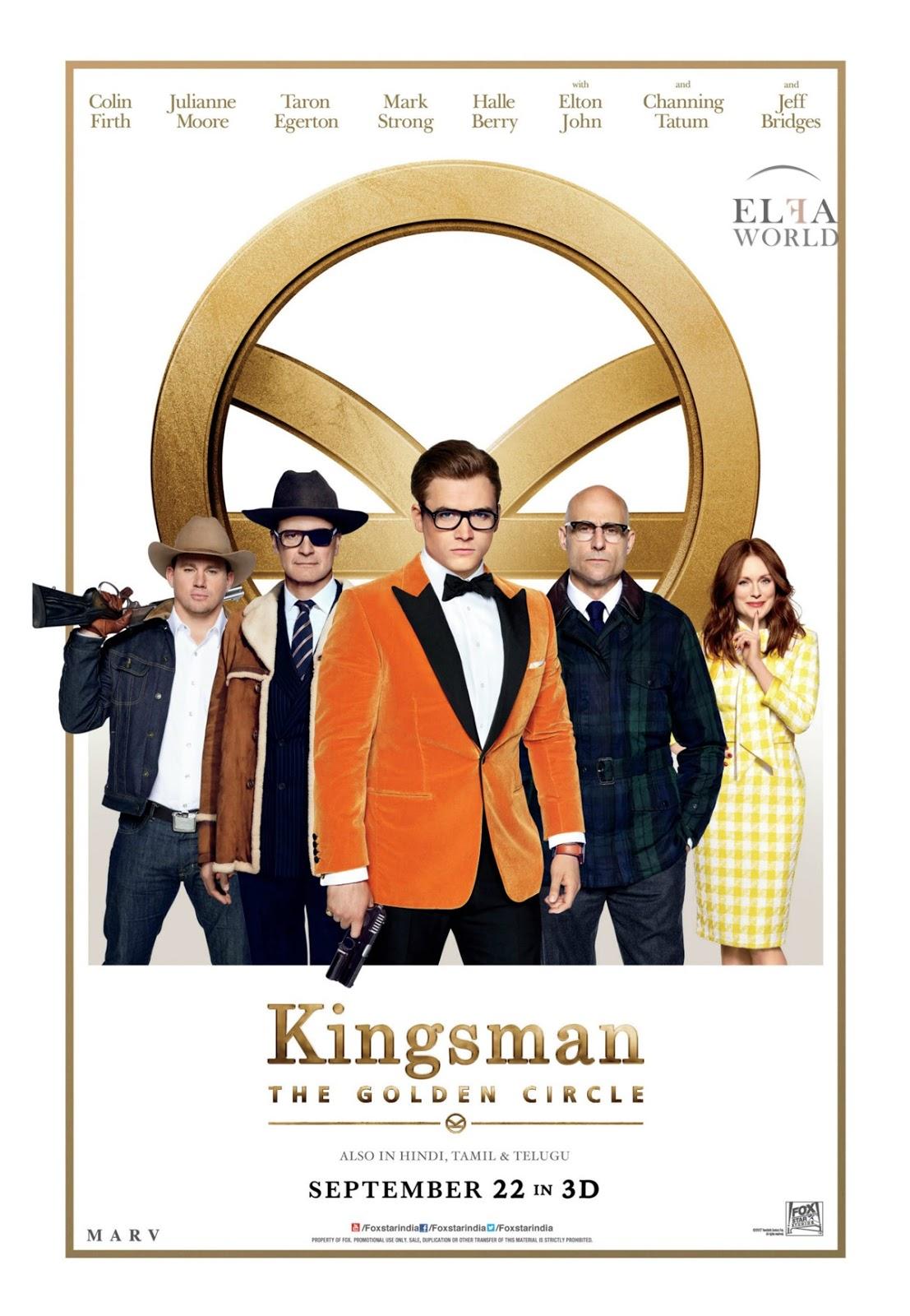 Kingsman: The Golden Circle (2017) คิงส์แมน รวมพลังโคตรพยัคฆ์
