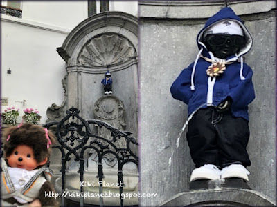 kiki monchhichi bruxelles brussels belgique toyslife manneken pis