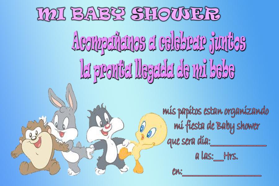 Tarjetas De Cumpleaños Para Imprimir Baby Shower 2