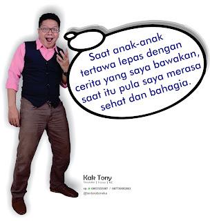 Kak Tony Pendongeng Sahabat Dongeng