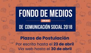 Colegio de Periodistas participa en lanzamiento del Fondo de Medios