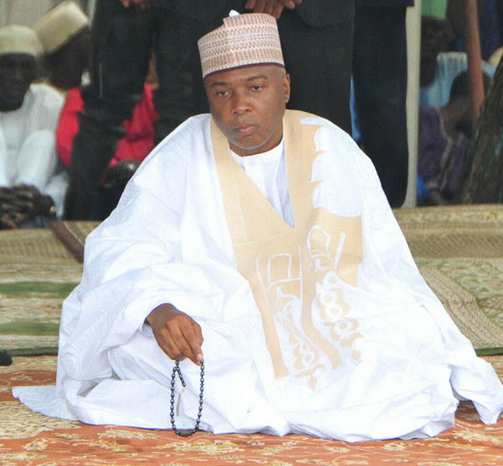 saraki hires alfas prayer