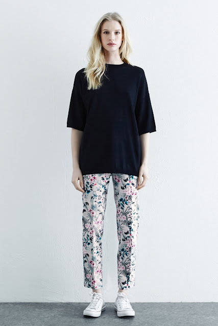 Warehouse Lily Print Trousers