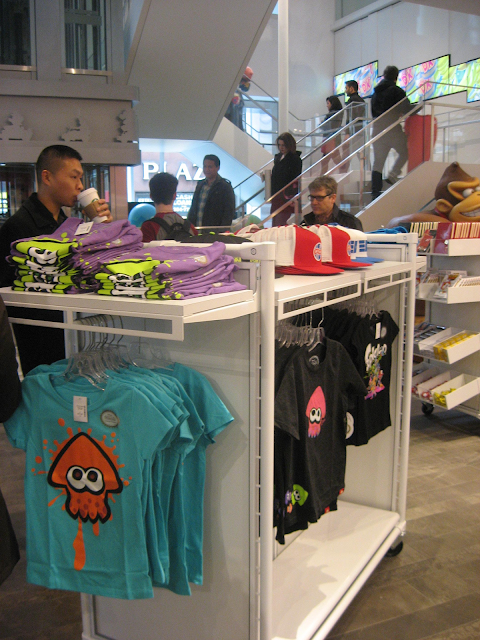 Nintendo NY Splatoon shirts merchandise