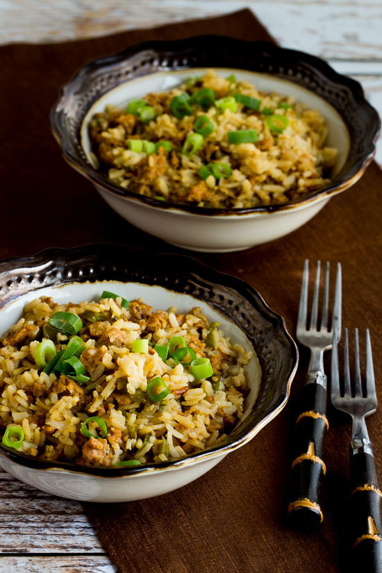 ... Kitchen®: Slow Cooker Spicy Brown Rice with Sausage and Peppers