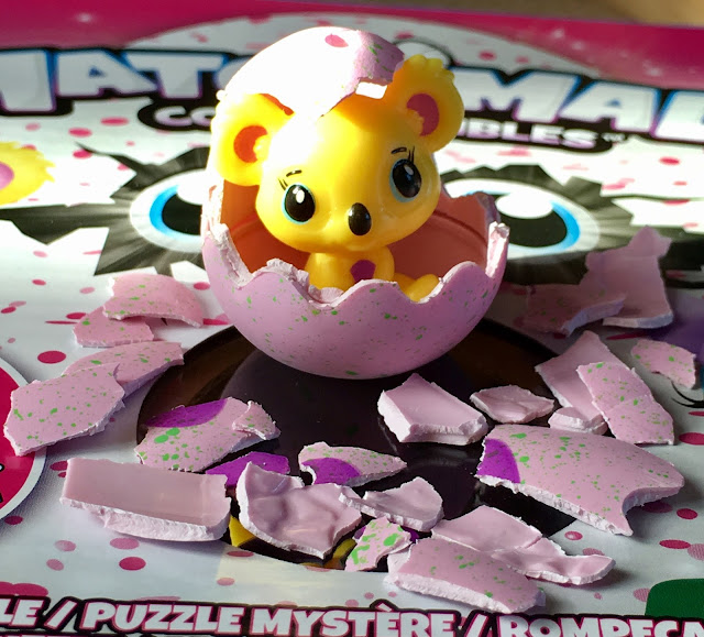 hatched Hatchimal Collectible.Hatchimals CollEGGtibles mystery puzzle #review