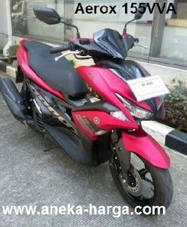 Pasaran harga motor Yamaha Aerox 155 VVA bekas terbaru