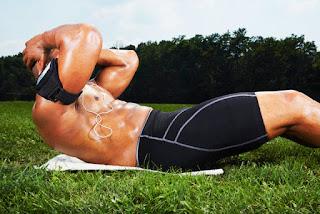 Cara membentuk perut sixpack tanpa ke gym