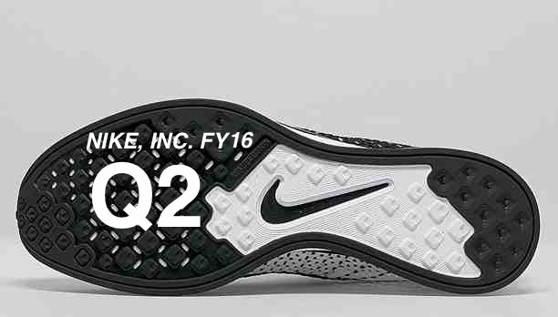 american sports style nike inc reports fiscal 2016 2nd quarter