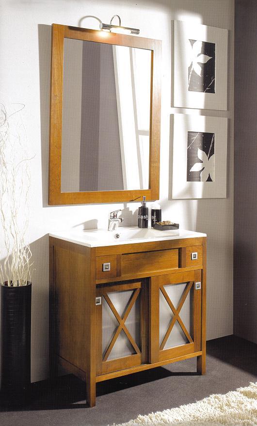 El blog del ba o mueble de ba o r stico en liquidaci n for Mueble bano rustico blanco