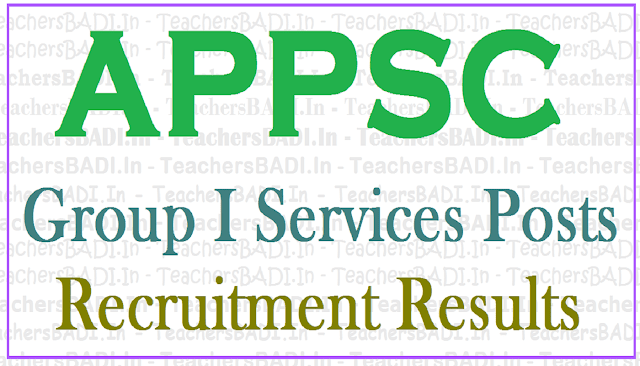 APPSC Group I posts 2011 Mains Results 2017, Oral test call letter, interview date