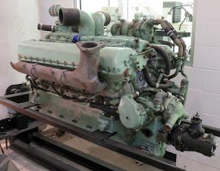 Large motor.