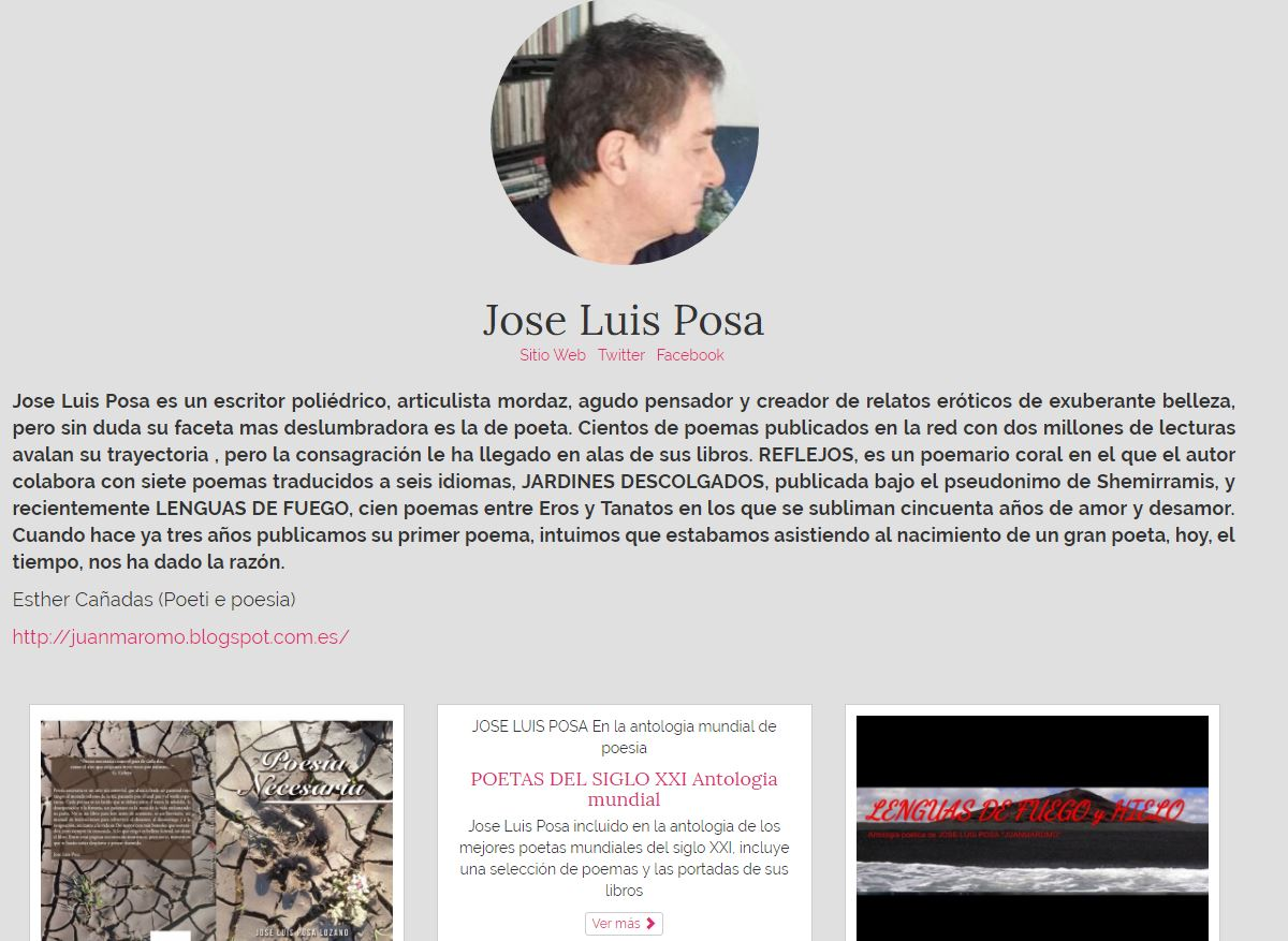 Jose luis posa lozano mi p gina en la red federal de for Paginas de espectaculos argentinos