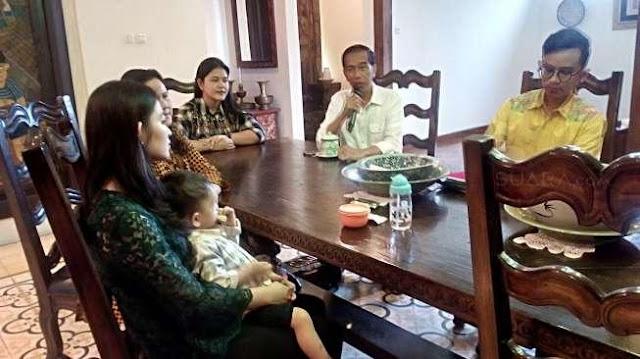 Presiden Jokowi dan Persiapan Pernikahan Kahiyang