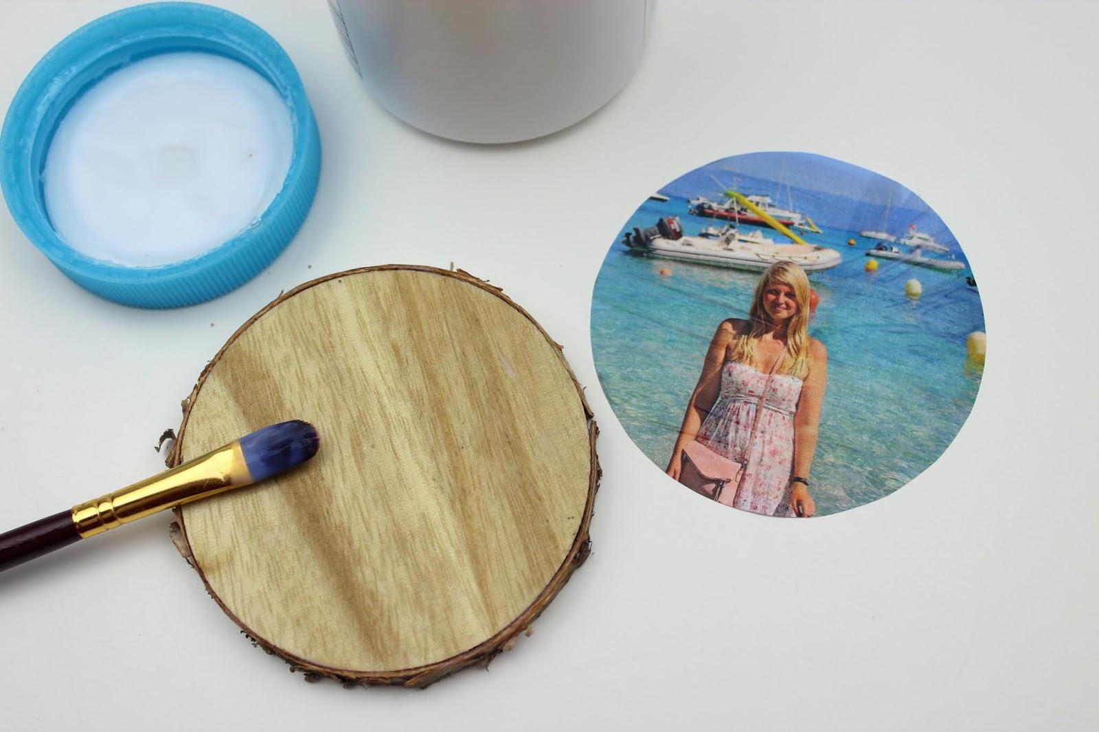 Foto auf Holz übertragen - DIY: 5 wundervolle Fotogeschenke ganz schnell und einfach selber gemacht mit dem HP Tango X