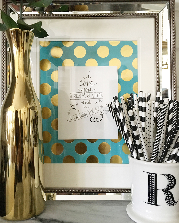 I Love You a Bushel and a Peck {Free Printable} | Less Than Perfect ...