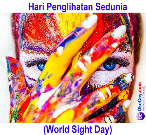 hari penglihatan sedunia internasional nasional