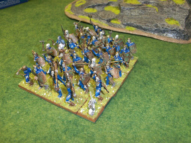 Mantic skeleton warriors