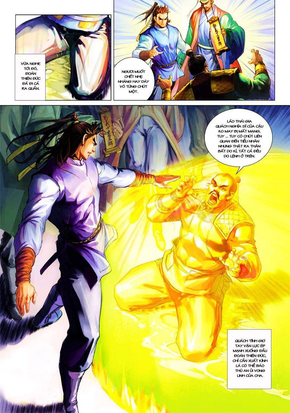 Anh Hùng Xạ Điêu anh hùng xạ đêu chap 33 trang 32