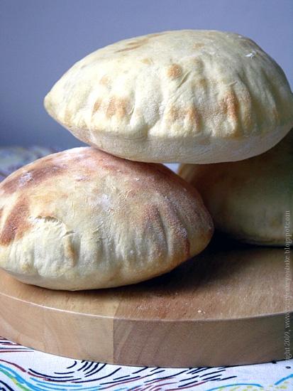 arabski chlebek pitta