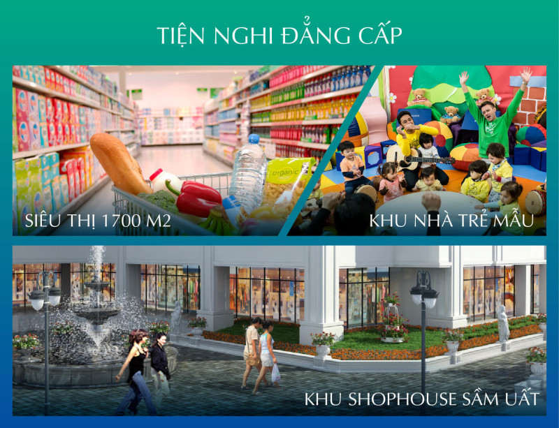 Tiện ích hiện đại của chung cư Bel Air Hà Nội