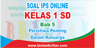 Soal IPS Online Kelas 1 SD Bab 5 Peristiwa Penting Dalam Keluarga Langsung Ada Nilainya