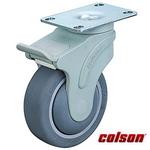 Bánh xe cao su xoay có khóa càng nhựa Colson Mỹ