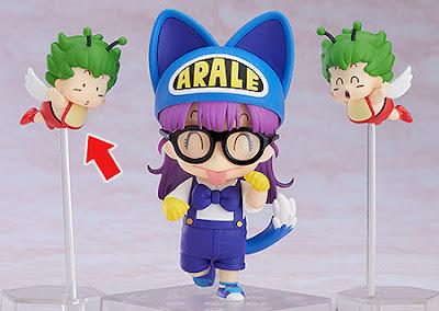 """Nendoroid Arale Norimaki Cat Ears Ver. & Gatchan de """"Dr.Slump Arale-chan"""" - Good Smile Company"""